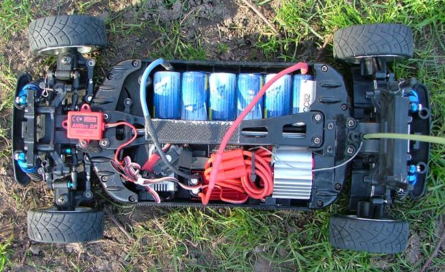 Tamiya TB-01 Ford Focus www.webff.nl/rccars